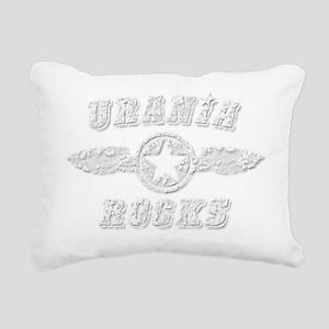 URANIA ROCKS Rectangular Canvas Pillow