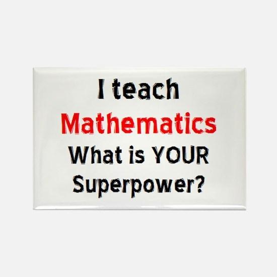 mathematics Rectangle Magnet