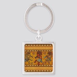 Best Seller Kokopelli Square Keychain