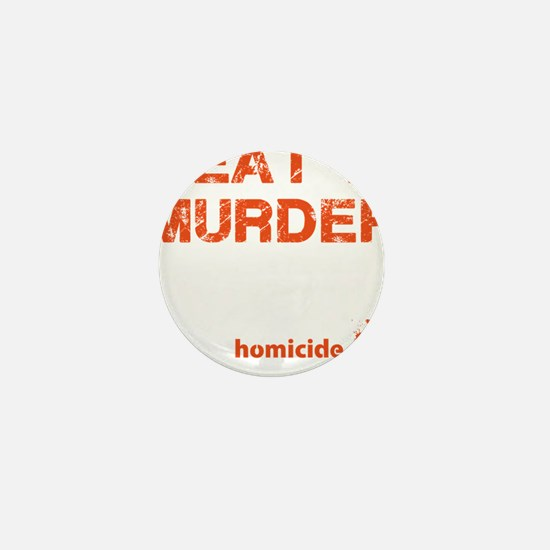 Meat is murder Mini Button