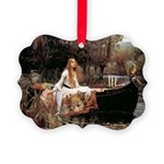 The Lady Of Shallot - Picture Ornament