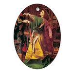 Morgan La Fay Ornament (Oval)