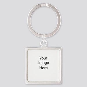 Your Image Here lrg Square Keychain