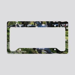 Korean War Memorial Color License Plate Holder