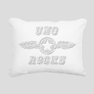 UNO ROCKS Rectangular Canvas Pillow