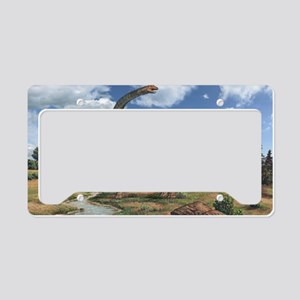 Brachiosaurus License Plate Holder