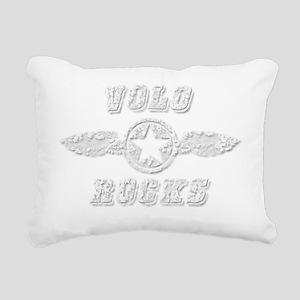 VOLO ROCKS Rectangular Canvas Pillow