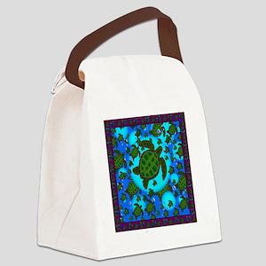 Honu Shower Curtain Canvas Lunch Bag