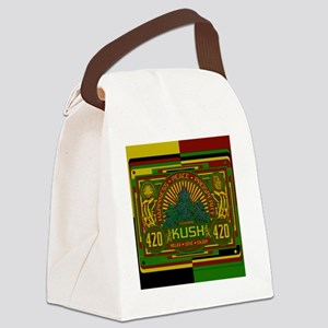 Kush 420 Shower Curtain Canvas Lunch Bag