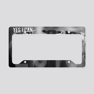 2013 Yes I Can License Plate Holder