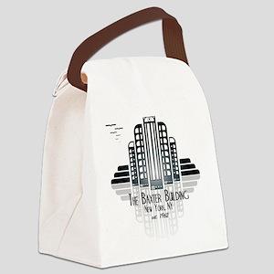 Baxter Building Canvas Lunch Bag