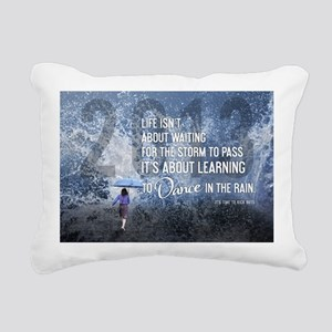 Life Isnt About Waiting Rectangular Canvas Pillow