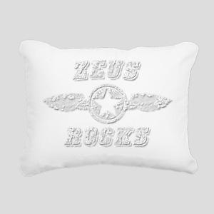 ZEUS ROCKS Rectangular Canvas Pillow