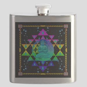 Buddha Shower Curtain Flask