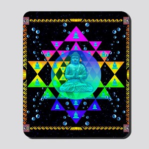 Buddha Shower Curtain Mousepad