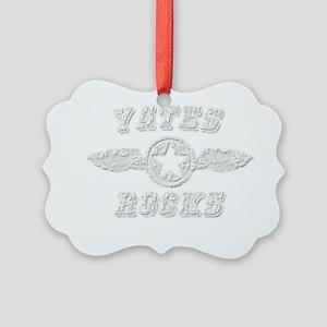 YATES ROCKS Picture Ornament