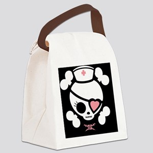 molly-rn-heart-LG Canvas Lunch Bag