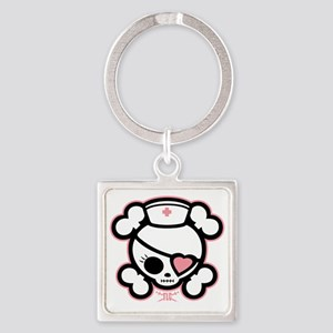 molly-rn-heart-DKT Square Keychain