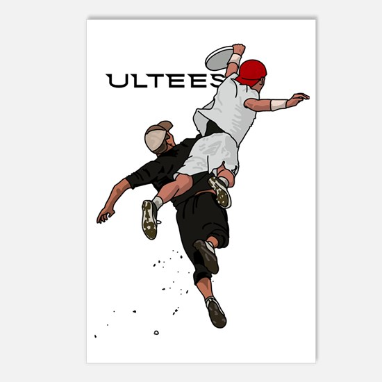 Bid over shoulder+Ultees Postcards (Package of 8)