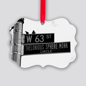 Thelonious Sphere Monk Circle, NY Picture Ornament