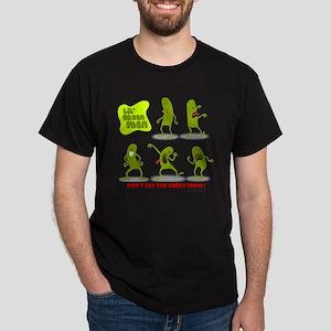 Green Snow Dark T-Shirt