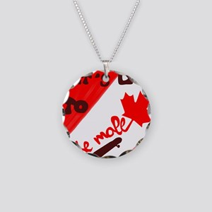 Let's go to the mall Necklace Circle Charm