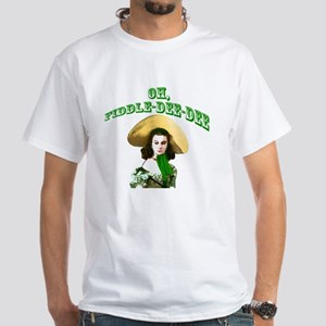 Fiddle dee dee White T-Shirt