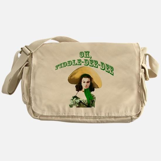 Fiddle dee dee Messenger Bag