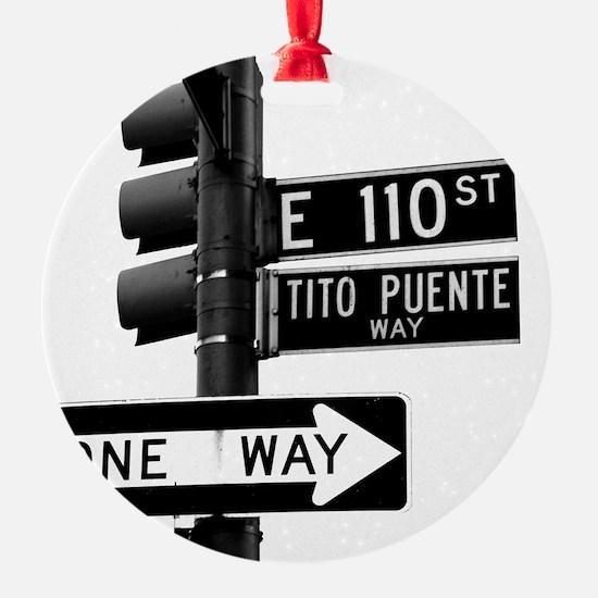Tito Puente Mambo King NYC, NY Ornament