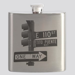 Tito Puente Mambo King NYC, NY Flask