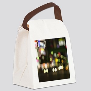 CCTV camera Canvas Lunch Bag
