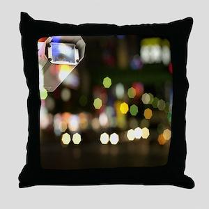CCTV camera Throw Pillow