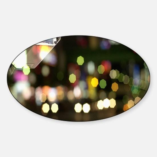 CCTV camera Sticker (Oval)