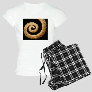 Chameleon's tail, SEM Women's Light Pajamas