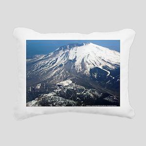 Mt. Saint Helens Rectangular Canvas Pillow