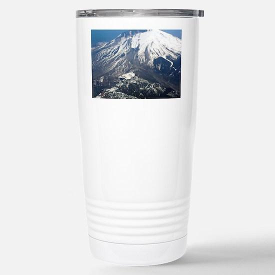 Mt. Saint Helens Stainless Steel Travel Mug