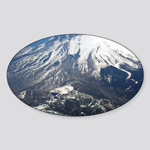 Mt. Saint Helens Sticker (Oval)