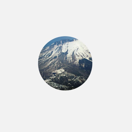 Mt. Saint Helens Mini Button