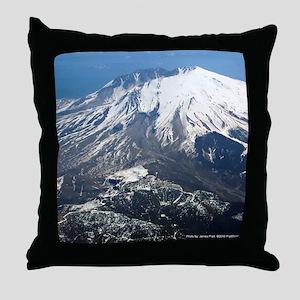 Mt. Saint Helens Throw Pillow