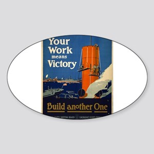 Your Work Means Victory - Fred J Hoertz - 1917 - P