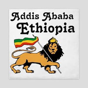 Addis Ababa, Ethiopia Queen Duvet