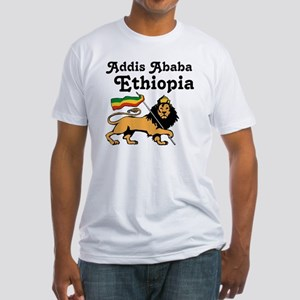 Addis Ababa, Ethiopia Fitted T-Shirt