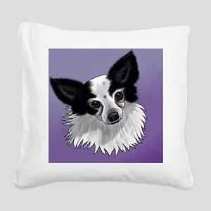 Papillon Square Canvas Pillow