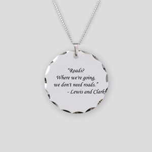 Back To The Future - Lewis a Necklace Circle Charm