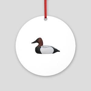 Canvasback Duck Decoys Ornament (Round)