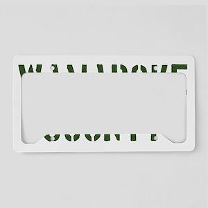 Wamapoke County License Plate Holder