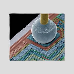 Chip connector, SEM Throw Blanket