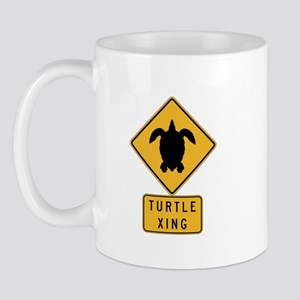 Turtle Crossing II, Hawaii Mug