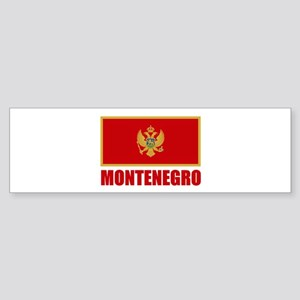 Montenegro Flag Bumper Sticker