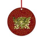 Green Man - 1 - Ornament (Round)